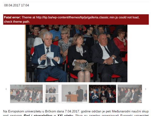 Izvor: tip.ba – Foto: Održan peti Međunarodni naučni skup na Evropskom univerzitetu