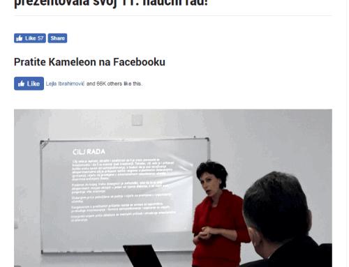 Naša Superžena Vahida Djedović u Brčkom prezentovala svoj 11. naučni rad! – Radiokameleon.ba